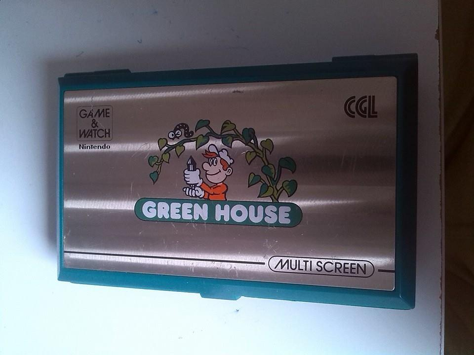 GH-54 Green House - Nintendo Game&Watch Conservacion 8/10