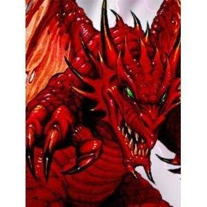 FUNDA MAX PROTECTION DEMON DRAGON- 50 UDS PEQUEÑA