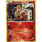 10/99 Growlithe - Comun Rev Holo - B&W Next Destinies - Ingles