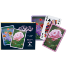 Cartas Baraja Poker Doble  - 2 - Poppy Rose