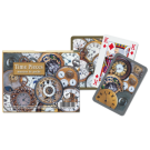 Cartas Baraja Poker Doble  - 2 - Time Pieces