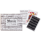 Cartas Baraja Poker Doble  - 2 - MUSIC